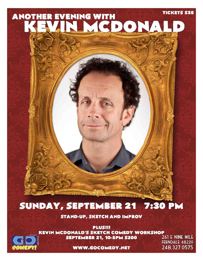 Another Evening with Kevin McDonald