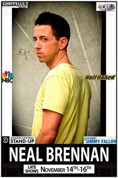 Neal Brennan Late Shows November 14-16, 2014 at Zanies Comedy Club Nashville
