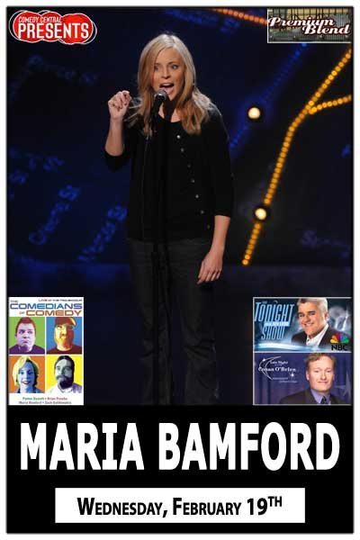 Maria Bamford Wednesday, Feb 19