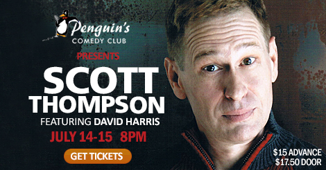 Scott Thompson from Kids in the Hall!