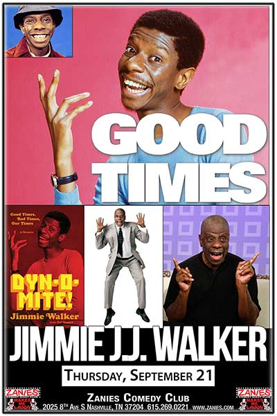 Jimmy J.J. Walker Live at Zanies Comedy Club Nashville September 21, 2017