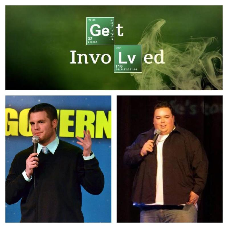 GET INVOLVED COMEDY PRESENTS LIVE AT THE BROKERAGE   SPECIAL EVENT