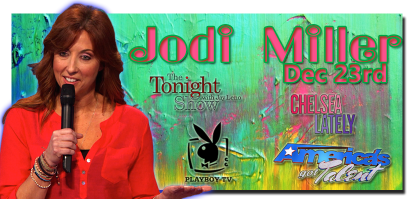 ComedyJuice w Americas Got Talent and The Tonight Shows Jodi Miller
