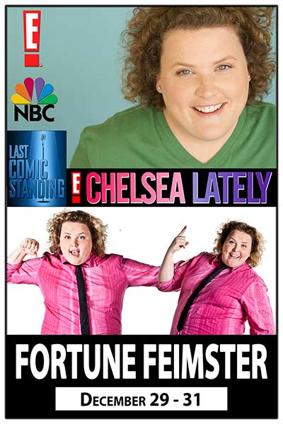 Fortune Feimster, Live at Zanies December 29-31, 2016