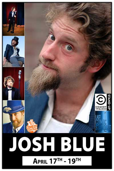 Josh Blue Winner Last Comic STanding April 17-19