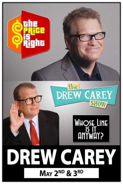 Drew Carey The Price is Right and the Drew Carey Show May 2-3