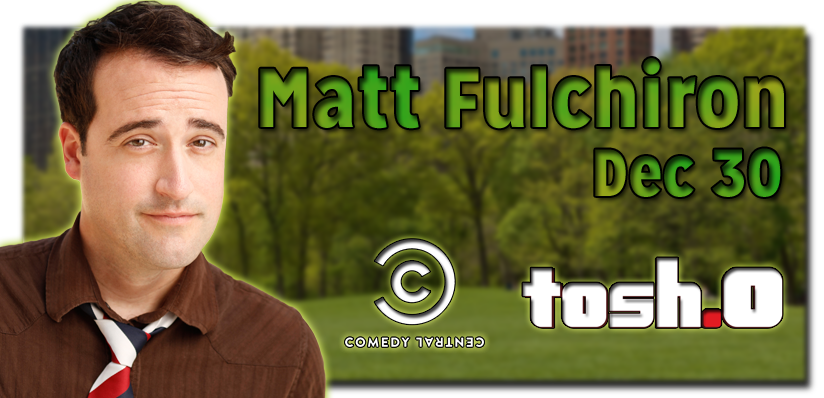 ComedyJuice w Comedy Central and Tosh0s Matt Fulchiron and Comedy Centrals Kevin Shea