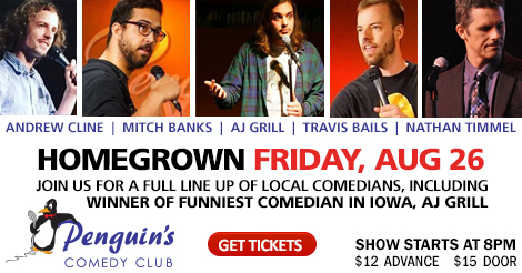 HOMEGROWN COMEDY SPECIAL!