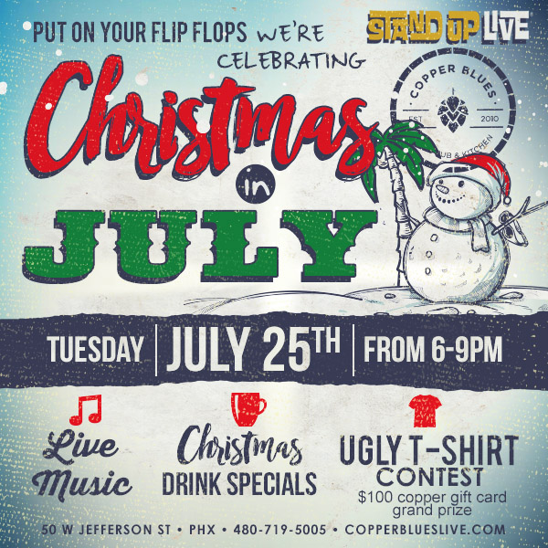standuplive christmas in july a holiday party planning extravaganza