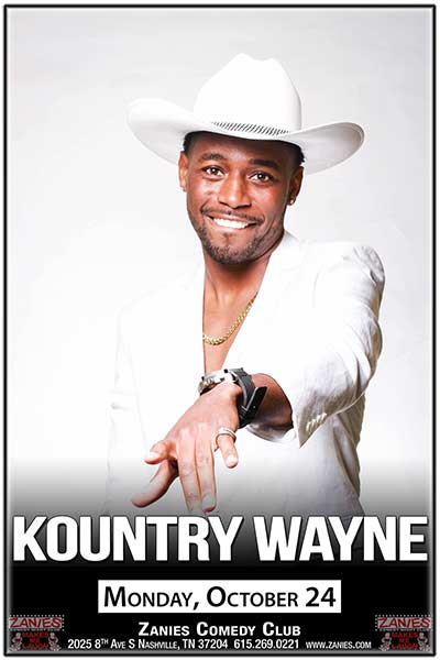 Kountry Wayne Live at Zanies October 24, 2016