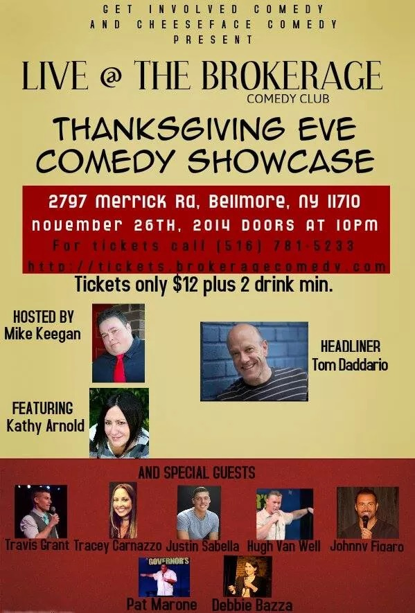 THANKSGIVING EVE COMEDY SHOWCASE  SPECIAL EVENT