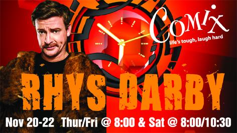 RHYS DARBY  4 Shows  November 2022