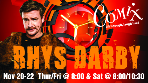 RHYS DARBY  4 Shows  November 2022