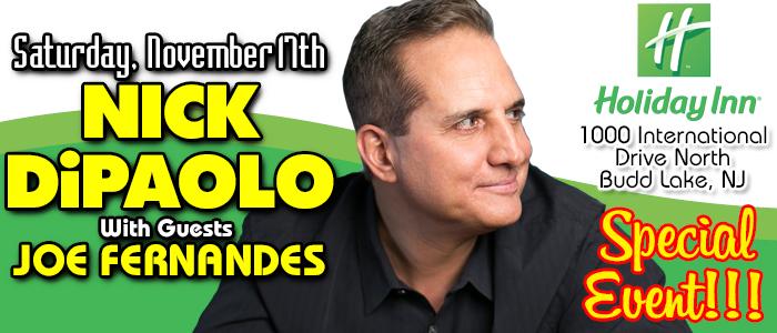 Nick DiPaolo at the Budd Lake Holiday Inn :: Comedy Shoppe