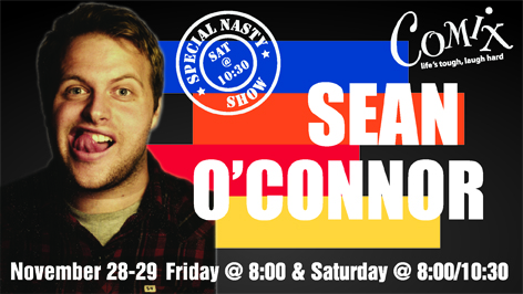 SEAN OCONNOR  3 Shows  November 2829