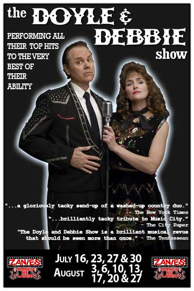 The Doyle & Debbie Show returns to Zanies beginning July 16 thru the end of August