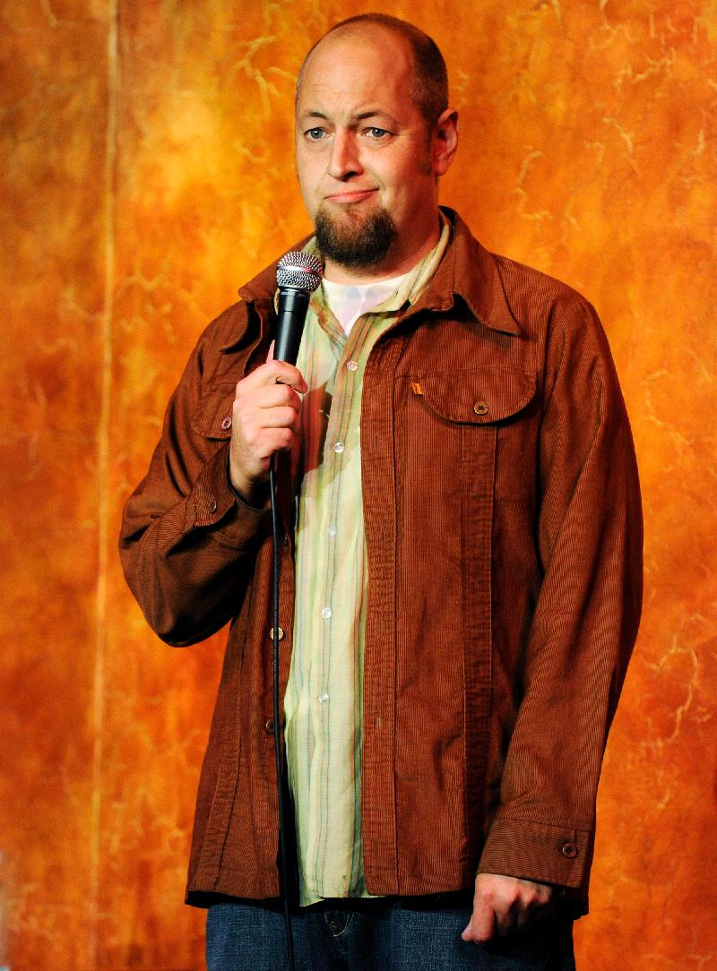 John Evans as seen on Comedy Central and Last Comic Standing  with  Sally Brooks
