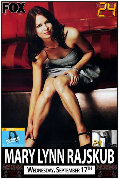 "Mary Lynn Rajskub ""Chloe"" on FOXs 24 One Night Only Wednesday, September 17, 2014 at Zanies Comedy Club"