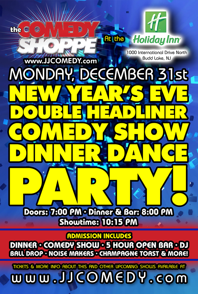 New Year's Eve Party at Budd Lake Holiday Inn :: Comedy