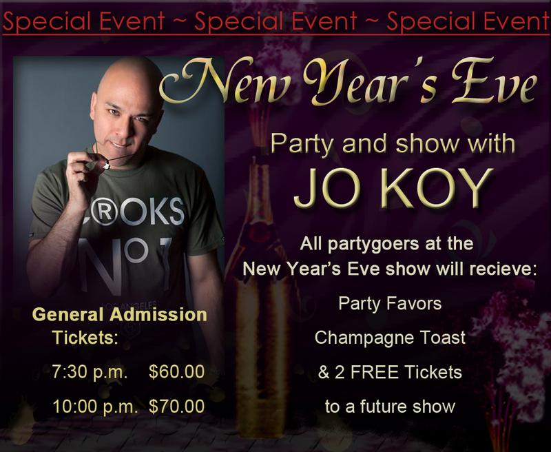 New Years Eve with Jo Koy