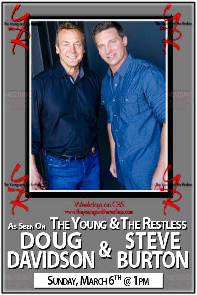 The Young and the Restless: Steve Burton and Doug Davidson