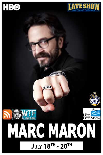 Marc MaronLIVE from his WTF podcast with