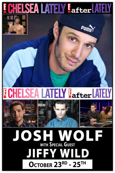 Josh Wolf & Jiffy Wild from Chelsea Lately Live at Zanies Nashville October 23-25, 2014