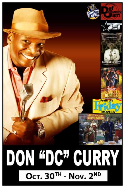 Don DC Curry Uncle Elrod fromthe Friday Movies Live at Zanies Nashville October 30 - Nov.2, 2014