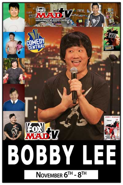 Bobby Lee November 6-8, 2014 from MAD TV at Zanies Comedy Club Nashville