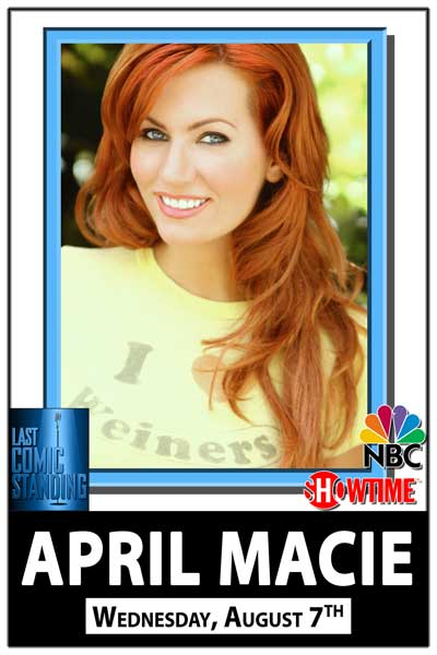 April Macie Wednesday, August 7