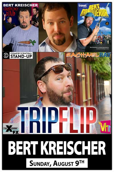 Bert Kreischer from Tripflip and Bert Conqueror on the Travel Channel live at Zanies Comedy Club Nashville Sunday, August 9, 2015