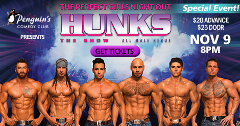 HUNKS The Show - All Male Revue