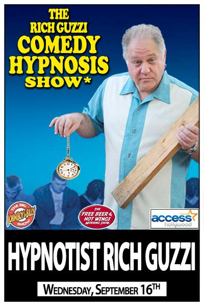 The Rich Guzzi Comedy Hypnosis Show Wednesday, September 16, 2015 live at Zanies Comedy Club Nashville