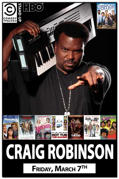 Craig Robinson from NBC's The Office Friday, March 7, 2014