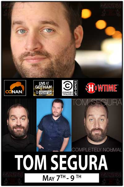 Tom Segura May 7-9, 2015 Live at Zanies Comedy Club Nashville