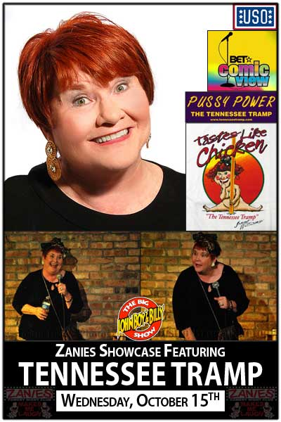 Janet Williams aka The Tennessee Tramp Live at Zanies Comedy Club Nashville Wednesday, October 15, 2014