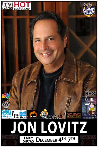 Jon Lovitz from Saturday Night Live and much more Live at Zanies Comedy Club Nashville December 4-7, 2014 Early Shows