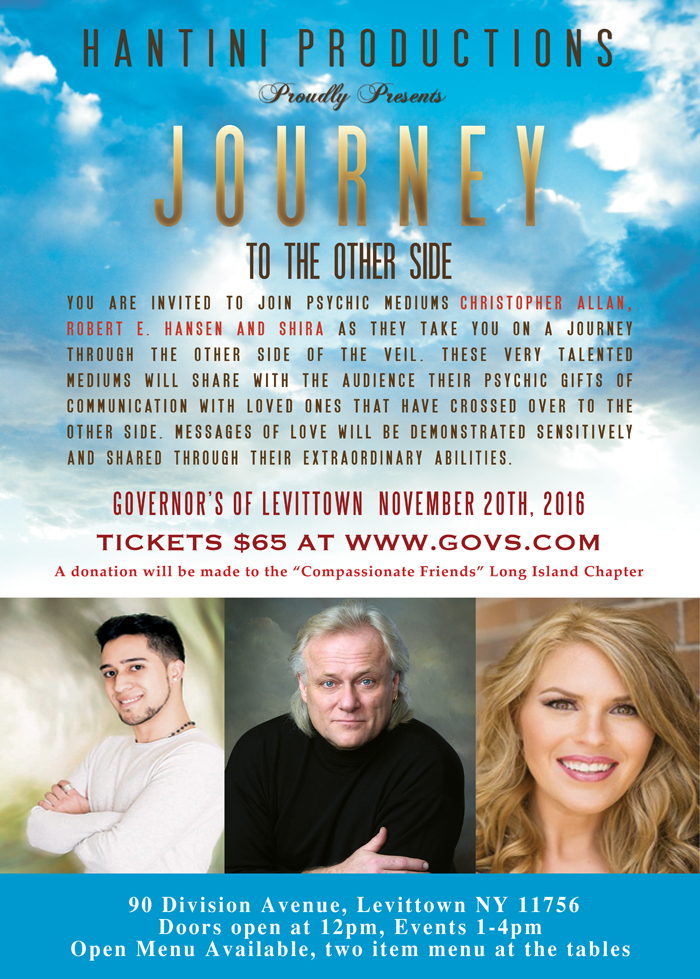 Governors Of Levittown Journey To The Other Side Special