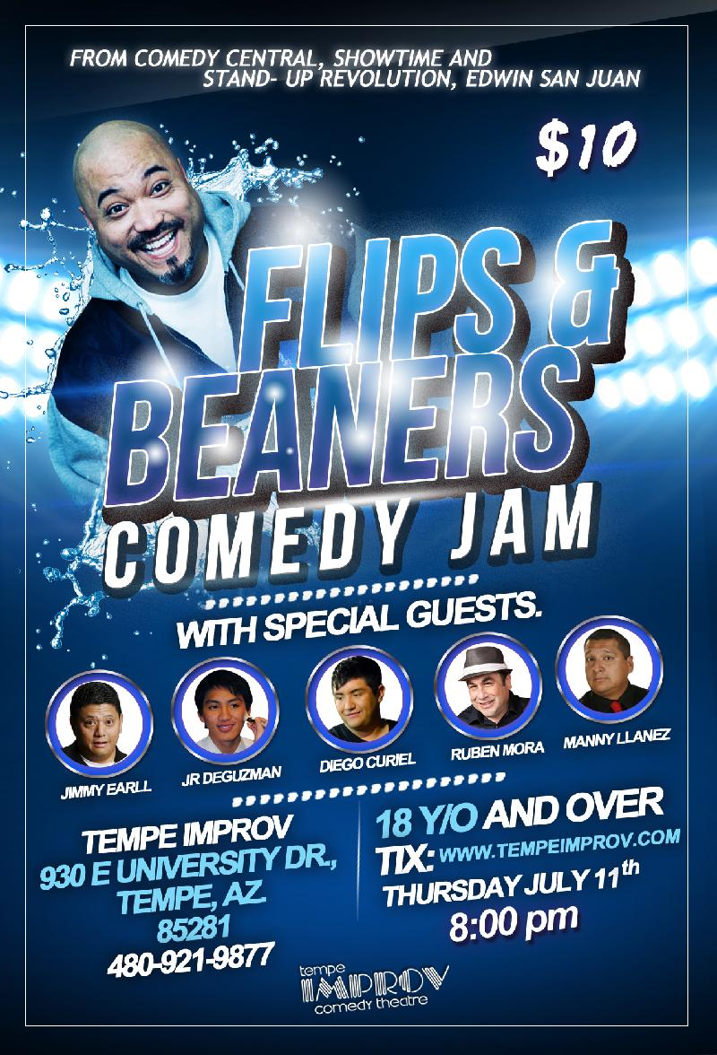 Flips And Beaners With Edwin San Juan