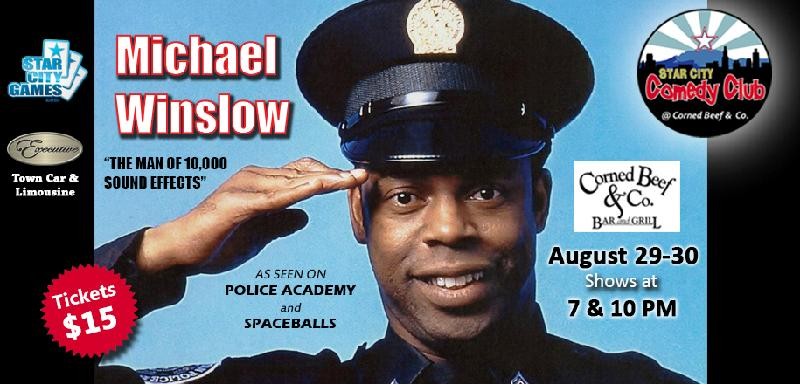 Celebrity Series starring Michael Winslow the Man of 10000 Sound Effects