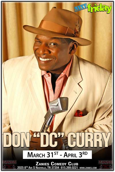 Don DC Curry Mar 31-April 3, 2016