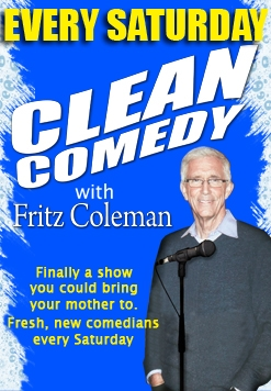 Fritz Colemans FunRaiser and Clean Comedy Nite