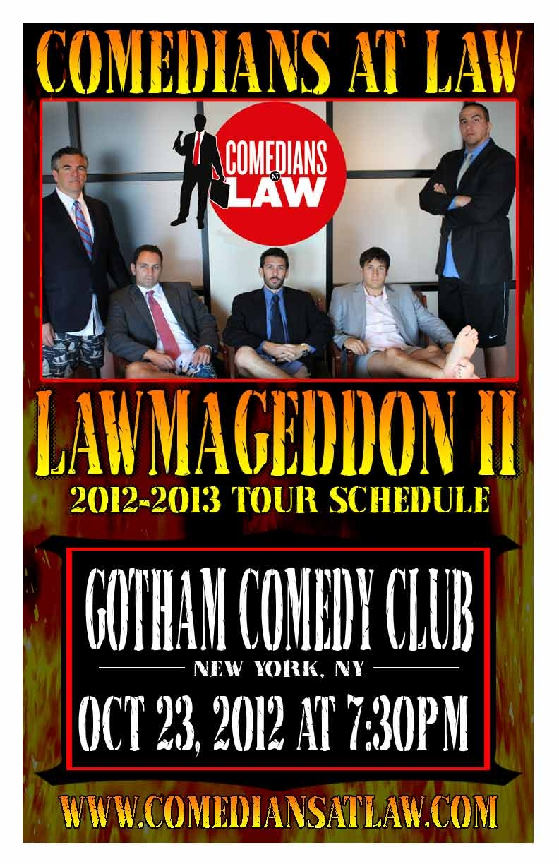Comedians at Law Presents Lawmaggedon 2012
