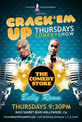 Fly Star Entertainment presents Crack em up Thursdays