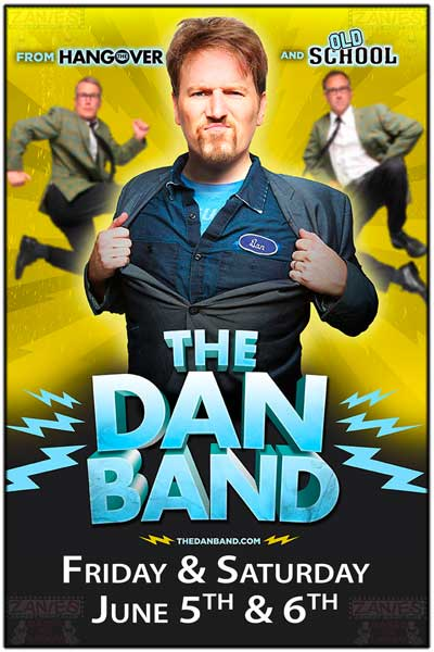 The Dan Band Friday & Saturday June 5 & 6, 2015 Live at Zanies Comedy Club Nashville
