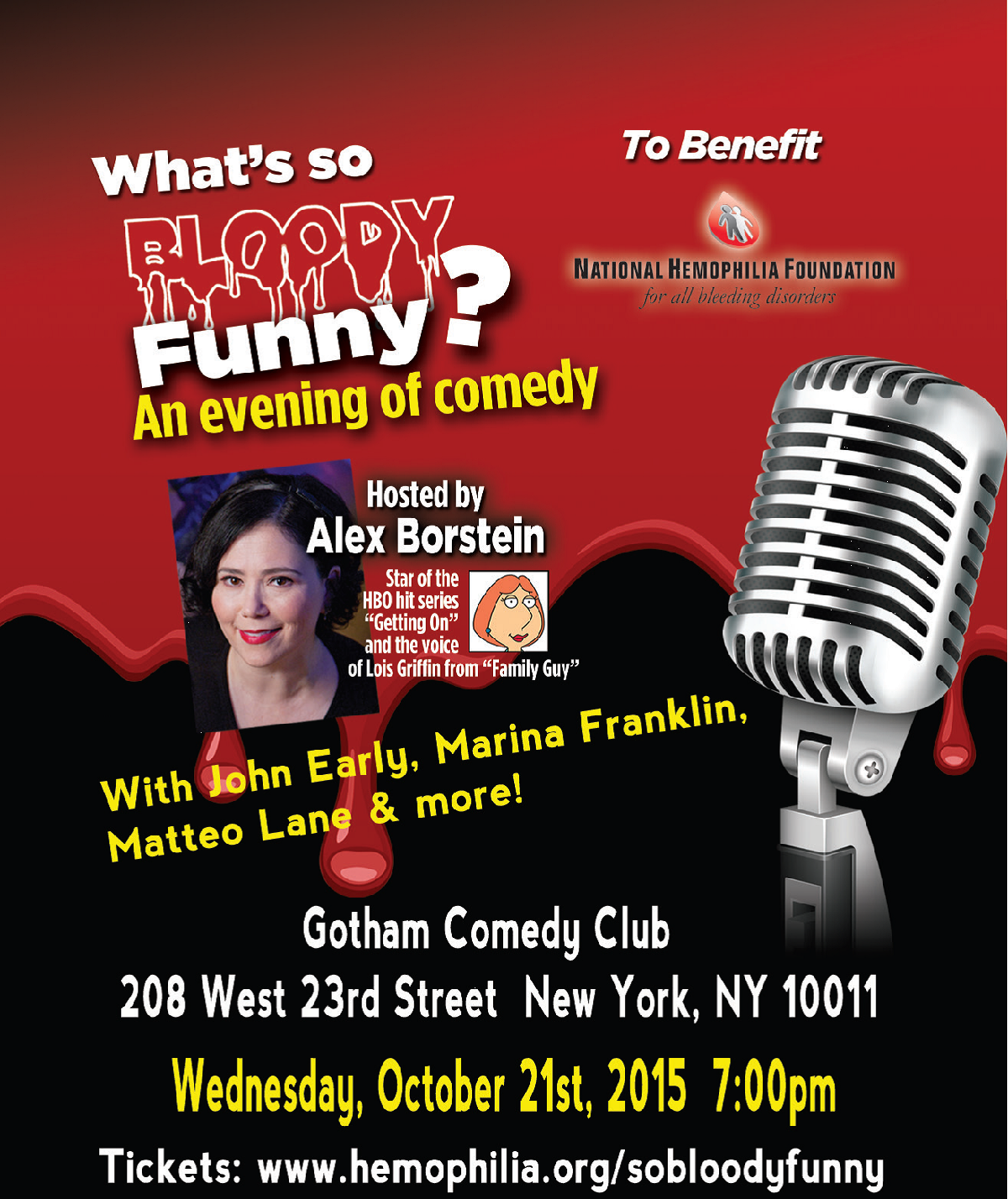 """Gotham Comedy Club :: """"What's So Bloody Funny?"""" – An Evening"""