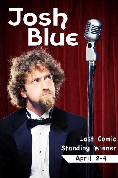 Josh Blue from Last Comic Standing Live at Zanies Comedy Club Nashville April 2-4, 2015