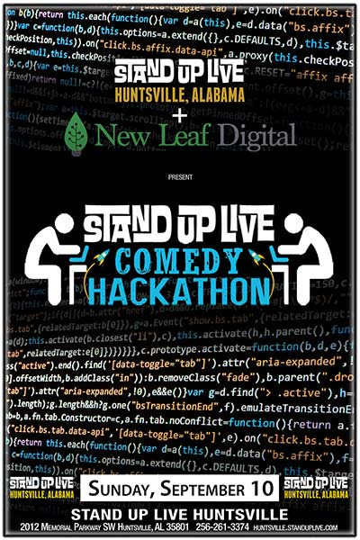 COMEDY HACK-A-THON :: Stand Up Live Huntsville