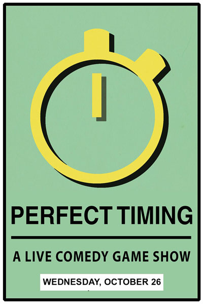 Perfect Timing: A Live Comedy Game Show Live at Zanies Nashville Wednesday, October 26, 2016