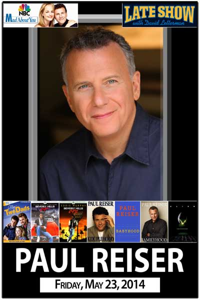 Paul Reiser from NBC's Mad About You Friday, Mary 23, 2014